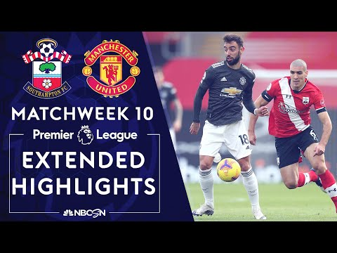 Southampton v. Manchester United | PREMIER LEAGUE HIGHLIGHTS | 11/29/2020 | NBC Sports