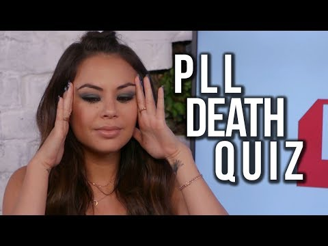 Janel Parrish Plays the PLL Death Quiz
