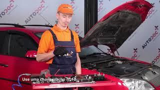 Como substituir Sapatas de freio MONDEO III Saloon (B4Y) - manual vídeo passo-a-passo