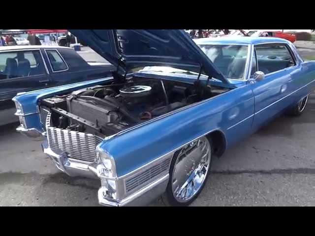 Lt Blue Cadillac Freeland Walleye Fest Car Show 2014