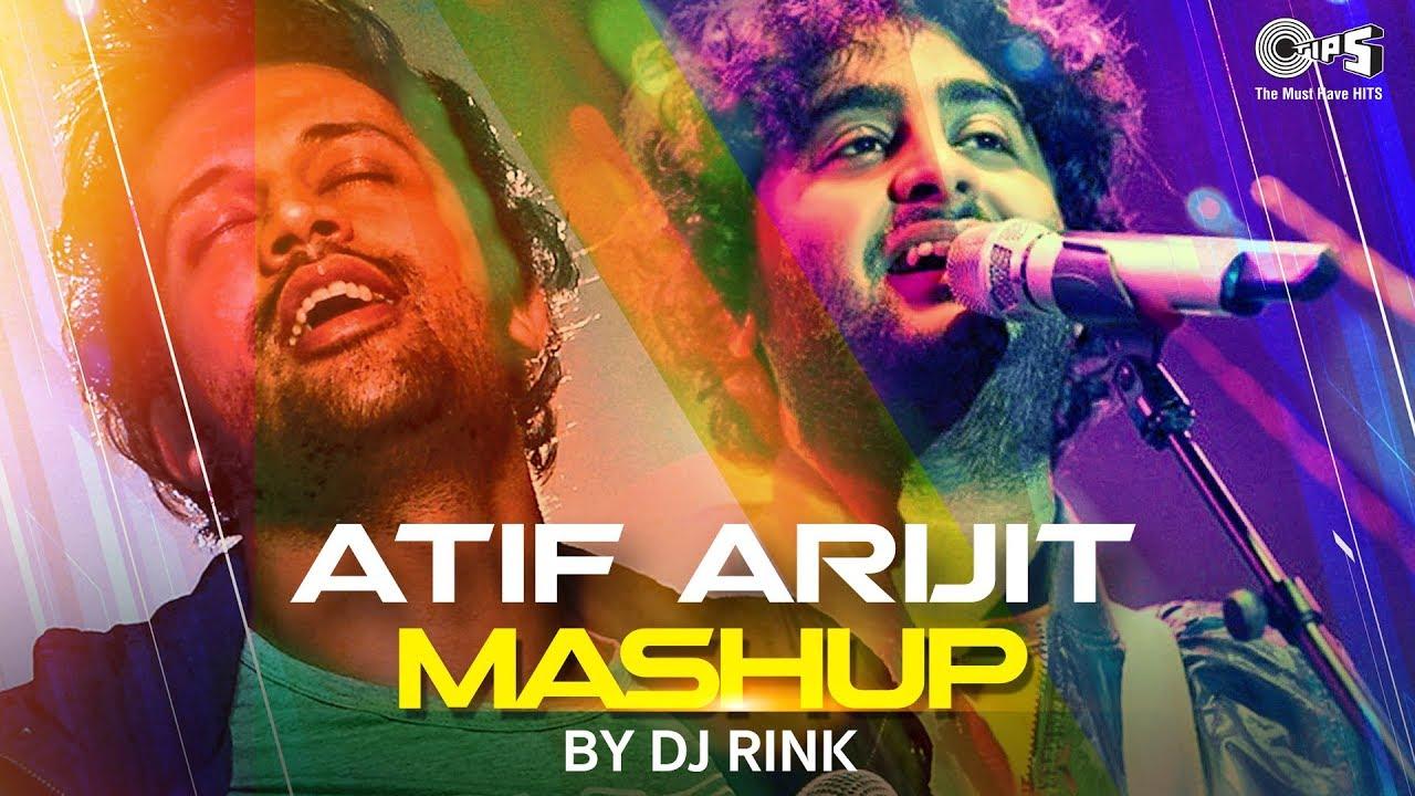 Atif aslam mashup full song video | dj chetas | bollywood love.