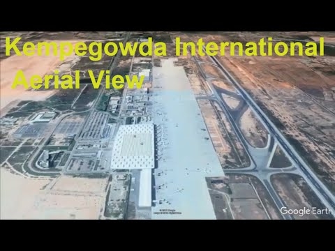 AERIAL Tour Of KIAL Kempegowda International Airport Bangalore