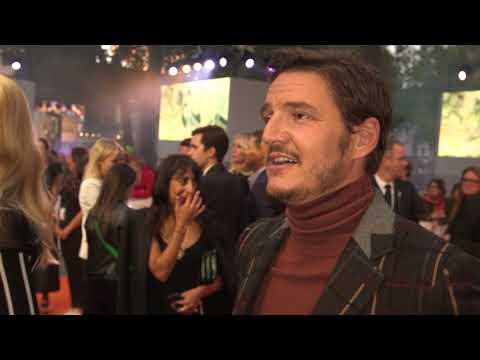 Kingsman The Golden Circle World Premiere Pedro Pascal Interview