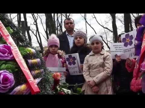 В Минске почтили память жертв геноцида армян