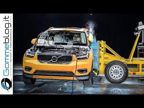 Volvo XC40 CRASH TEST !!! Safe Luxury Compact SUV