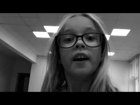 Анастасия Меделяновская   На зайчик солнечный смотрю я... стих Сони Белецкой 12 лет