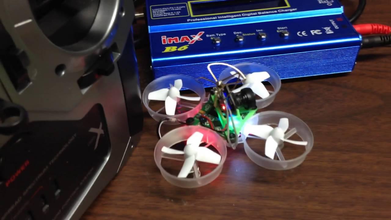 Tiny whoop motor break in youtube for Lumenier tiny whoop motors