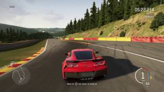 Forza Motorsport 6 - Chevrolet Corvette Z06 I Spa-Francorchamps I Free Ride (Car Showcase)