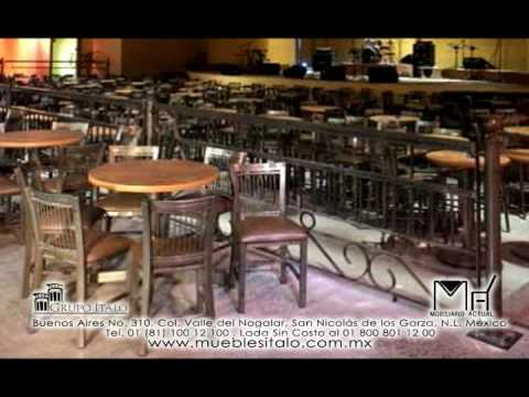 Mobiliario actual muebles para restaurantes mesas y for Mesas para restaurante usadas