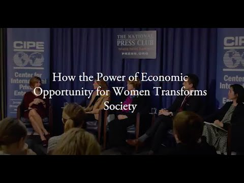 How the Power of Economic Opportunity for Women Transforms Society