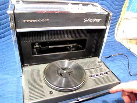 Panasonic SG-610 AM/FM Portable Record Player