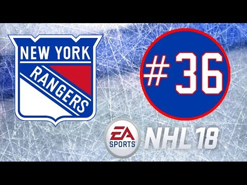 NHL 18 ~ New York Rangers Franchise Mode ~ #36 (The Return!!!)
