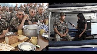 Ինչպես է անցնում զինվորների առօրյան. Մեկ օր զորամասում