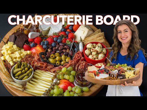 How to Make a Charcuterie Board - ULTIMATE CHEESE BOARD