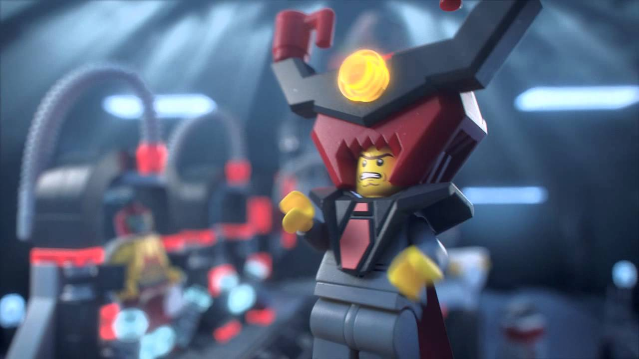Lego Movie 70809 Lord Business Evil Lair Lego 3d Review Youtube