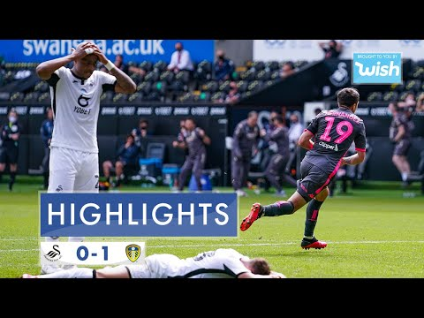 Highlights: Swansea City 0-1 Leeds United | 2019/20 EFL Championship