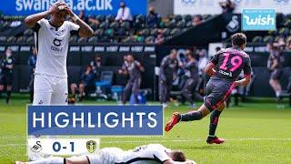 Highlights: Swansea City 0-1 Leeds United   2019/20 EFL Championship