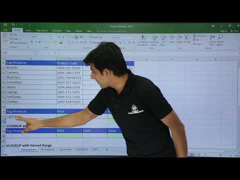 Ms Excel Vlookup With Exact Match Youtube