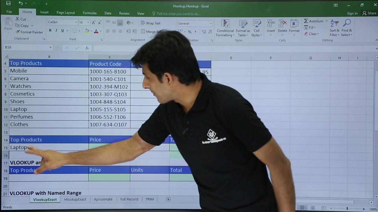 MS Excel   Vlookup in Excel Video Tutorials