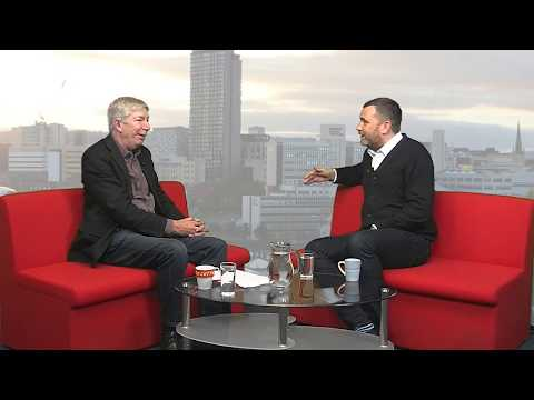 Sheffield Live TV David Hirst on Guinness record (!) & James Shield 16.12.27 Part 1