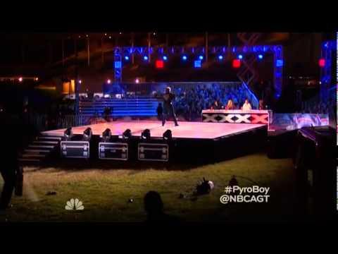 America's Got Talent 2015 Season 10 - Auditions - Wally Glenn Pyro Boy