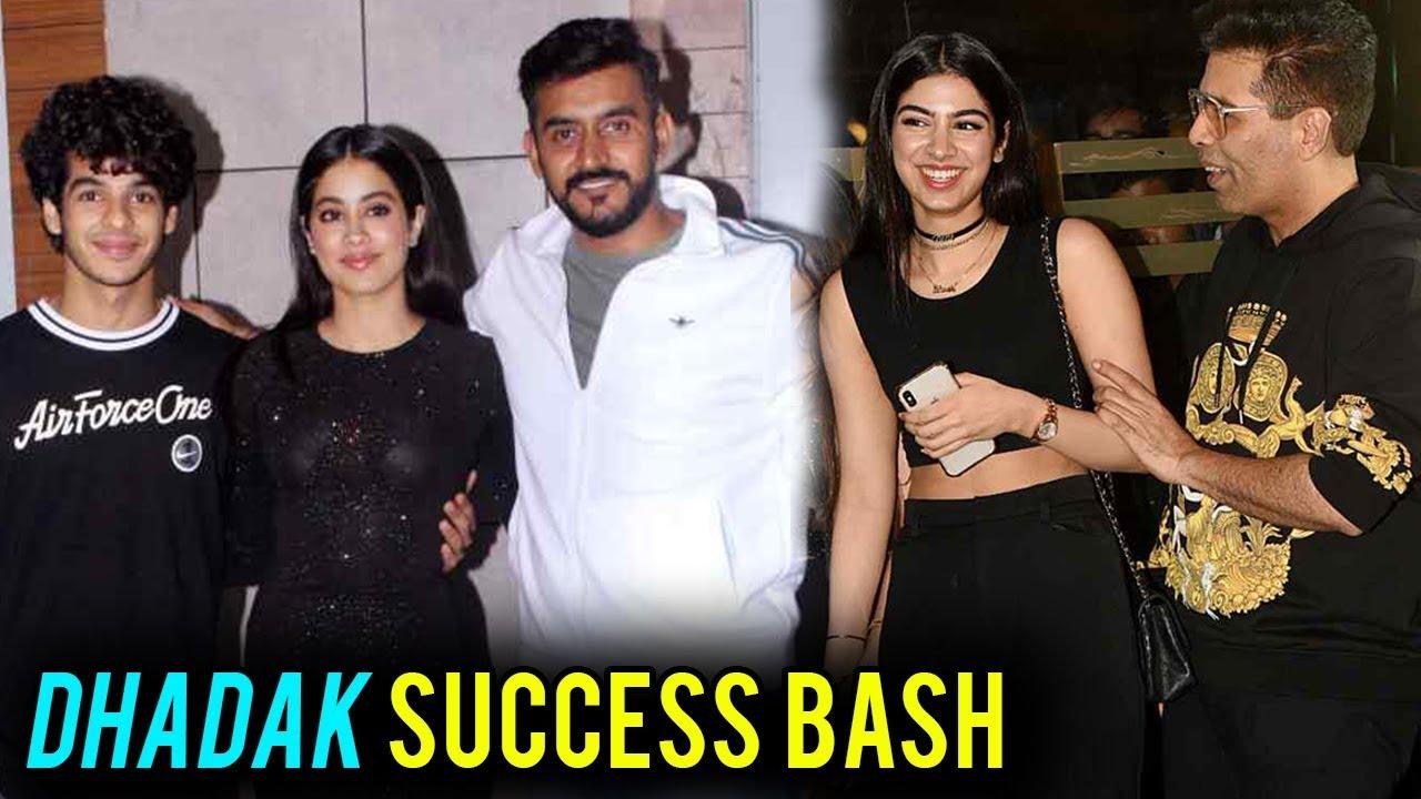 Dhadak Success BASH | Janhvi Kapoor, Ishaan Khatter, Karan Johar, Shashank  Khaitan
