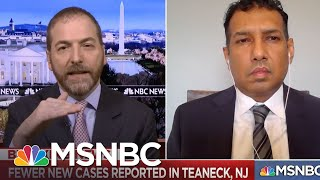 Teaneck Mayor: 'Somebody Who Has Army Experience' Needs To Provide Pandemic Response   MSNBC