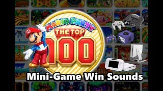Mario Party The Top 100 - All Mini-game Win Sounds