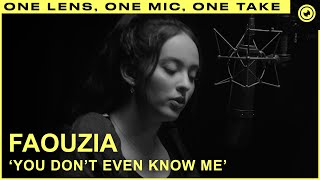 Faouzia - You Don't Even Know Me | THE EYE
