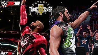 WWE 2K19 ONLINE - Ricochet vs. Johnny Gargano (2-OUT-OF-3 FALLS MATCH HIGHLIGHTS) TakeOver: Phoenix