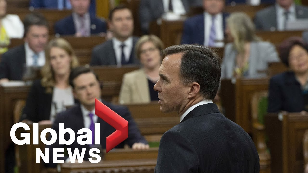 Conservatives drown out budget speech chanting 'let her speak'