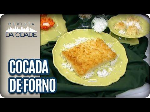 Receita de Cocada de Forno - Revista da Cidade (20/01/17)
