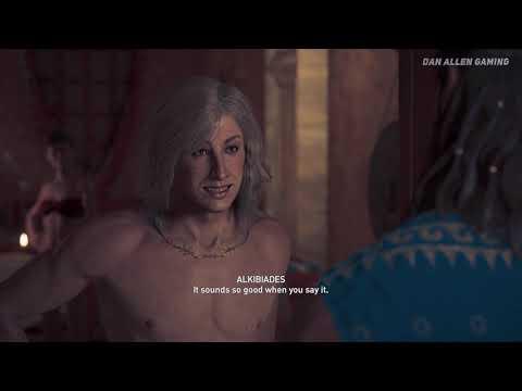 Assassin's Creed Odyssey - All Alkibiades Cutscenes