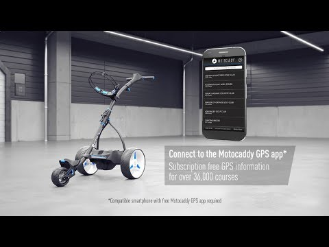 2017 Motocaddy S5 CONNECT Video
