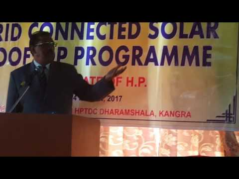 Presentation by Er Harinder Jain  on Grid Connected Roof Top Solar Power Plant