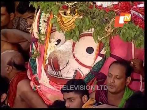 Lord Balabhadra Niladri Bije 2017 Puri   Goti Pahandi - Rath Yatra 2017