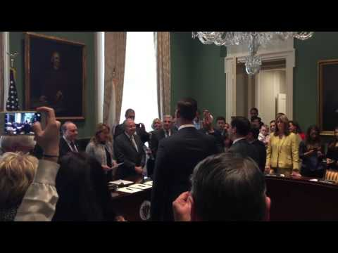 Lt. Governor Polito Swearing In on May 18, 2016