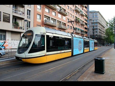 ИТАЛИЯ. МИЛАН. Транспорт в Милане.