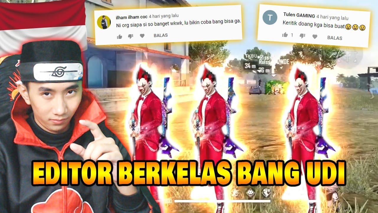 BANG UDI BISANYA REACTION DOANG GAK BISA BIKIN EDITOR BERKELAS!!!