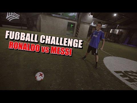 Ksfreak Vs Krappi | Fußball Challenge | Ronaldo Vs Messi Version