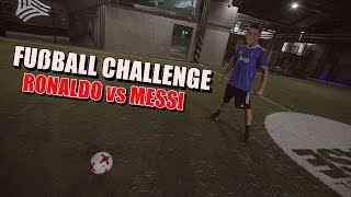 Ksfreak Vs Krappi | Fußball Challenge | Ronaldo Vs Messi Version