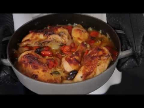 How To Make Delicious Roasted Chicken With Tomatoes