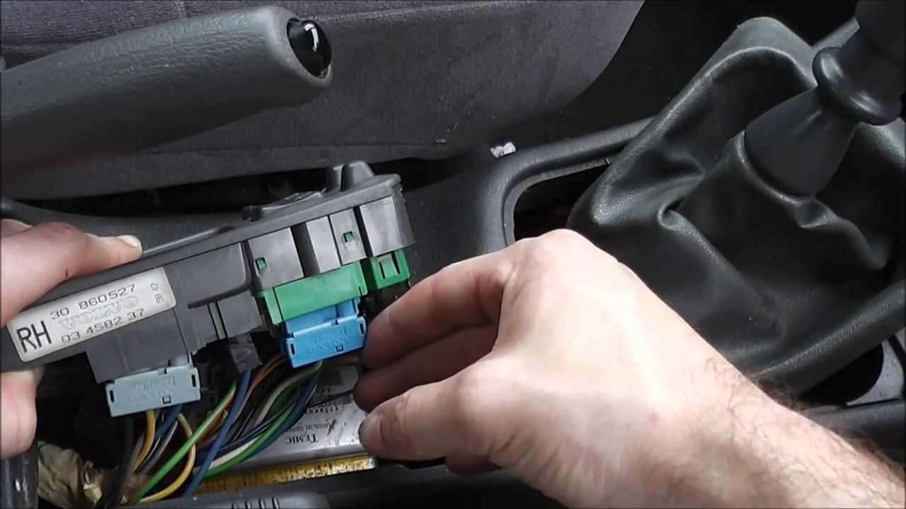 Volvo S40 V40 Center Console Switches Replacement Youtube
