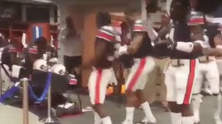 Auburn And Cam Newton Dab In Locker Room Before Iron Bowl