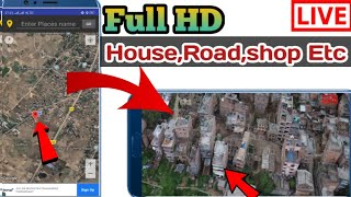 GPS Earth Map Explore | Live 3D Satellite Street View Mobile Location | TechBoy Sagar ( In Hindi ) screenshot 2