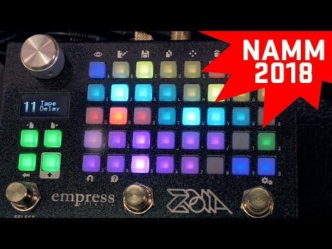 Empress Effects Zoia - NAMM 2018
