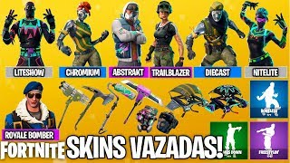 Fortnite-LEAKED NEW SKINS, PICKS, GUILDERS, DANCES, ETC!