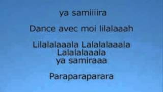 cheb khaled samira lyrics