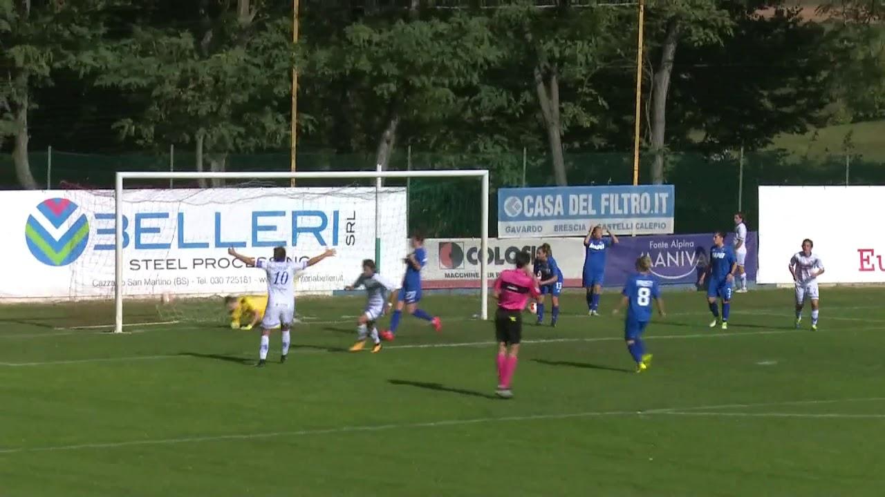 Goals and highlights Brescia CF-Sassuolo CF