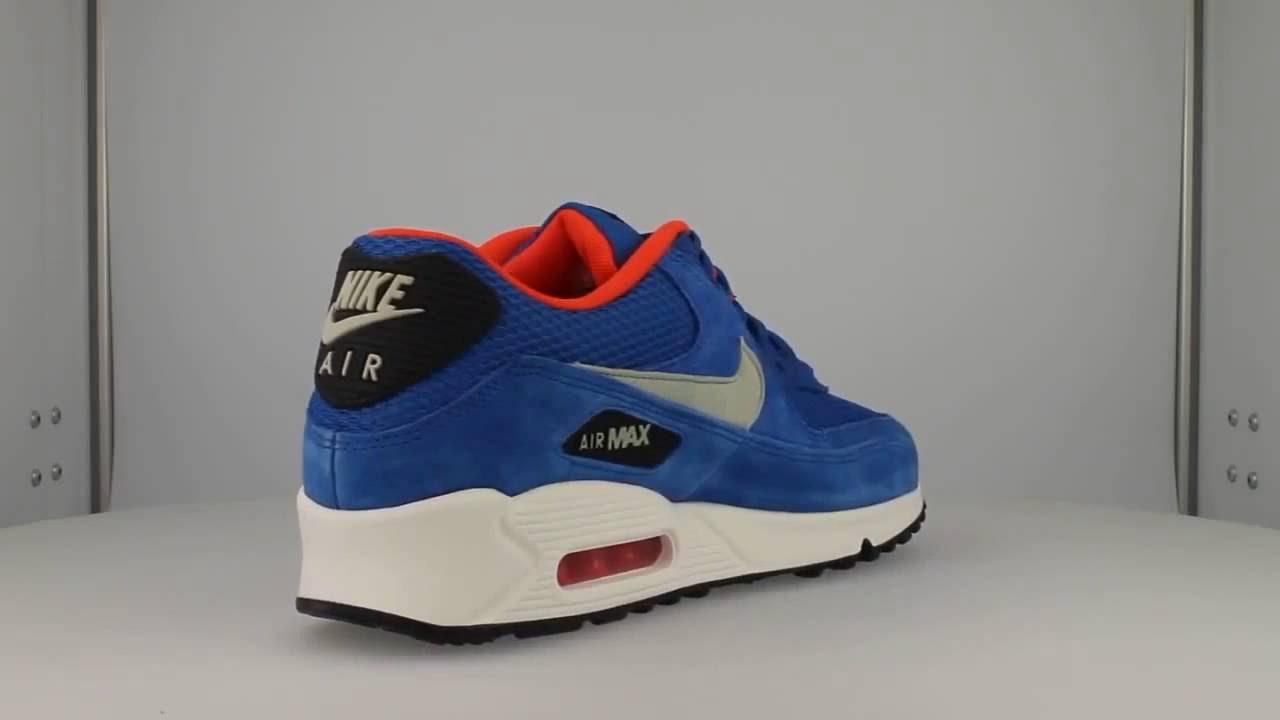 nike air max 90 essential (dark electric blue/light stone)